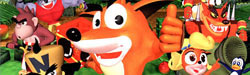 Crash Bandicoot: Side-Scrolling Platformer