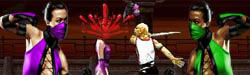 Finish Him - Stars of Mortal Kombat II