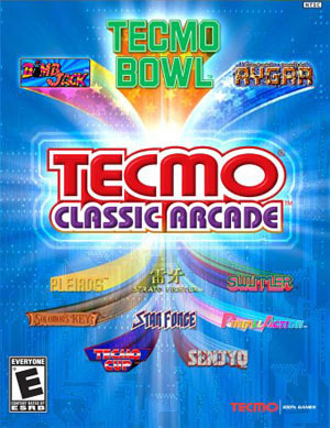 defunct games > the cover critic > preview > tecmo classic arcade (ps2)