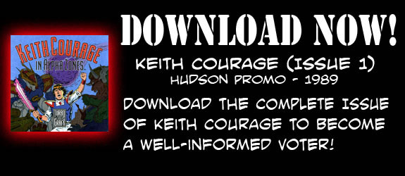 Keith Courage Comic