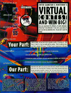 Game Fan's Virtual Boy Contest