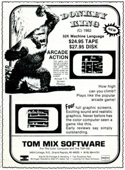 Donkey King (Tom Mix Software)