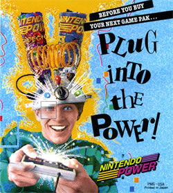 Nintendo Power - Plug Into the Power
