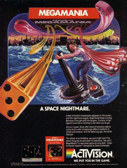 MEGAMANIA - A Space Nightmare
