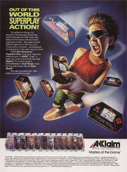 Acclaim: Out of This World SuperPlay Action!