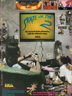 Skate or Die 2 (Electronic Arts)