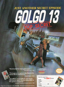 Golgo 13: Top Secret (Vic Tokai)