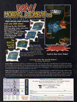 Win!  Mortal Kombat 3.5: The Ultimate