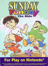 Sunday Funday: The Ride (NES)