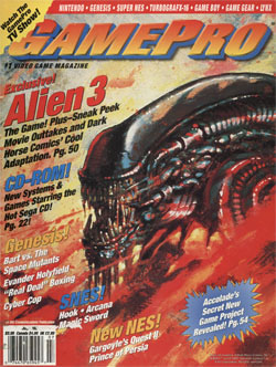 GamePro: Alien 3 Exclusive!