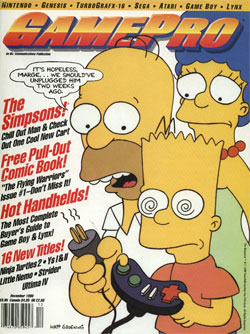 GamePro: The Simpsons