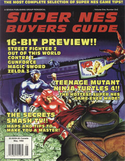 Super NES Buyers Guide (Issue 1)