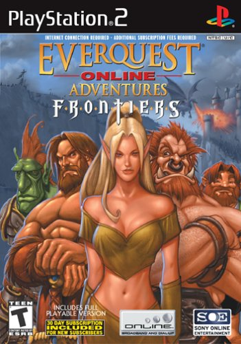EverQuest Online Adventure Frontiers (PS2)