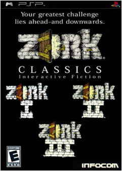 Preview Zork Classics Psp Defunct Games