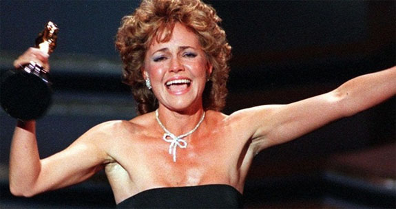 Sally Field wins the Oscar in 1985
