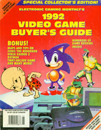 EGM 1989-2001 Buyers Guides System Ratings Game Rating Sega