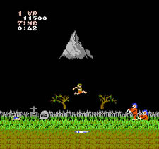 Ghosts 'N Goblins - Level 1: The Graveyard