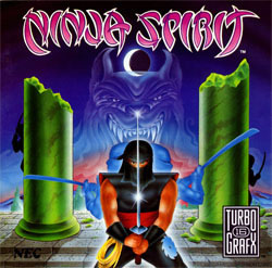 Ninja Spirit (TurboGrafx-16) Cover