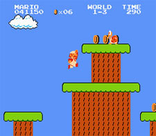 Super Mario Bros. Level 1-3 (Hidden Area)