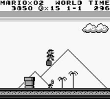 Super Mario Land - Level 1-1