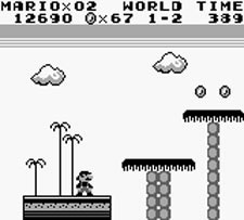 Super Mario Land - Level 1-2!