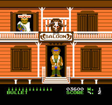 Wild Gunman - Game B: Shoot Out at the Saloon!