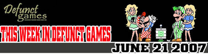 This Week In Defunct Games