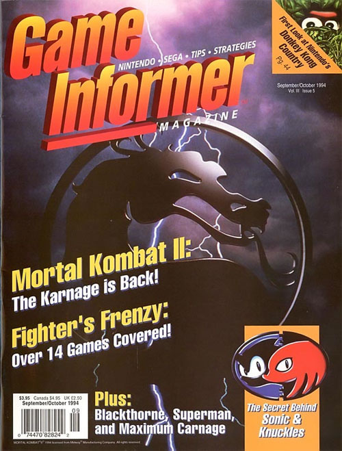 Game Informer Games Done Legit Mortal Kombat