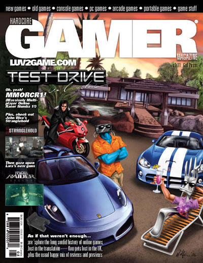 Hardcore Gamer Magazine #11: Test Drive Unlimited - Defunct