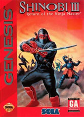 Shinobi III: Return of the Ninja Master (Sega)
