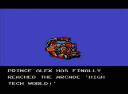 Alex Kidd: High Tech World (Master System)