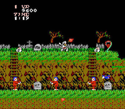 Ghosts 'N Goblins (3DS Virtual Console)