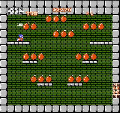 Mighty Bomb Jack (3DS Virtual Console)