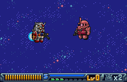 SD Gundam: Operation U.C. (WonderSwan Color)