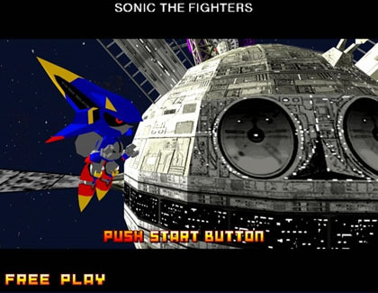 Sonic the Fighters (XBLA)