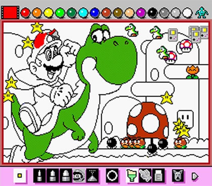 Mario Paint (Super NES)