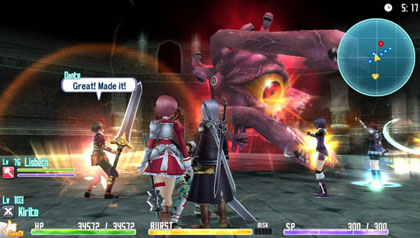 Sword Art Online (PS Vita)