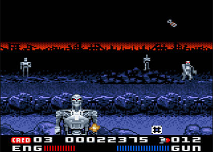 Terminator 2: The Arcade Game (Game Gear)