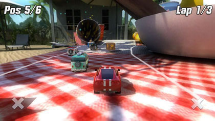 Table top racing review for ps vita 2014 defunct games - Times table racing car game ...