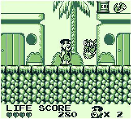 The Flintstones: King Rock Treasure Island (Game Boy)