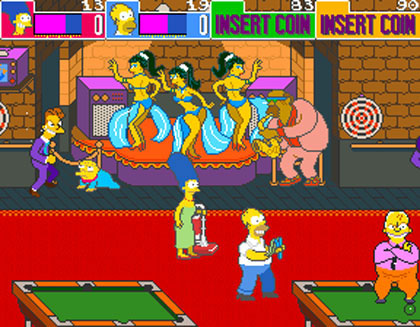 The Simpsons Arcade Game (XBLA)