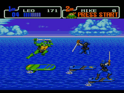 Teenage Mutant Ninja Turtles: The Hyperstone Heist (Genesis)