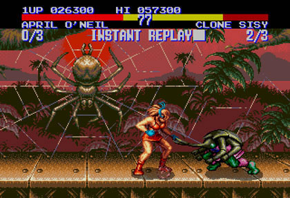 Teenage Mutant Ninja Turtles: Tournament Fighters (Genesis)