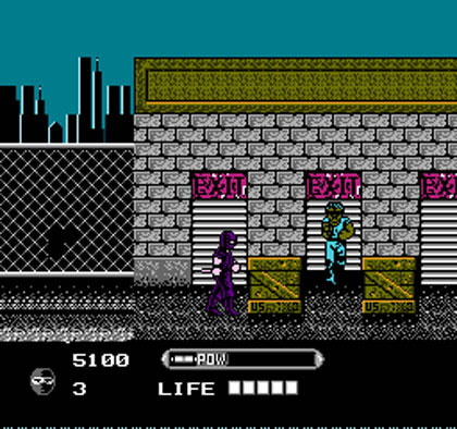 Wrath of the Black Manta (NES)