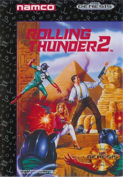 Rolling Thunder 2: What Did Critics Say in 1992? - Defunct Games
