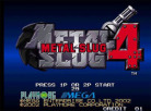 Metal Slug 4 (Virtual Console)