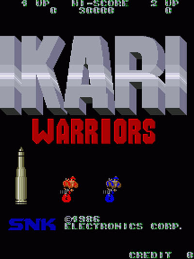 Ikari Warriors (PSP Minis)