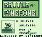 Battle Ping Pong