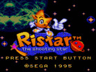 Ristar the Shooting Star