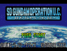 SD Gundam: Operation U.C.
